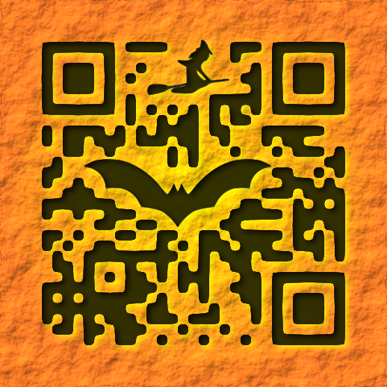 Halloween themed QR Code