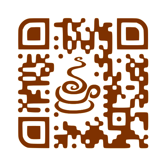 Coffee Custom QRCode