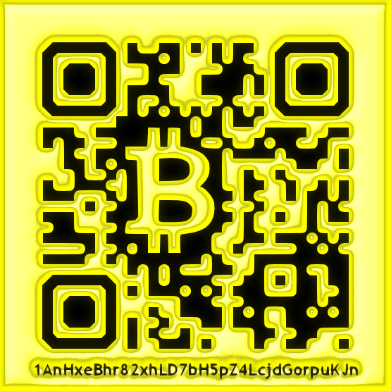 BitCoin Wallet Custom QR Code