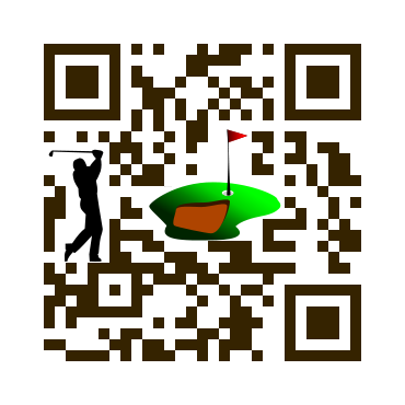 Custom QRCode: playing golf