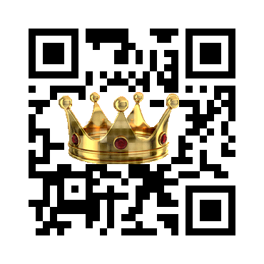 Custom QR Code: Crown