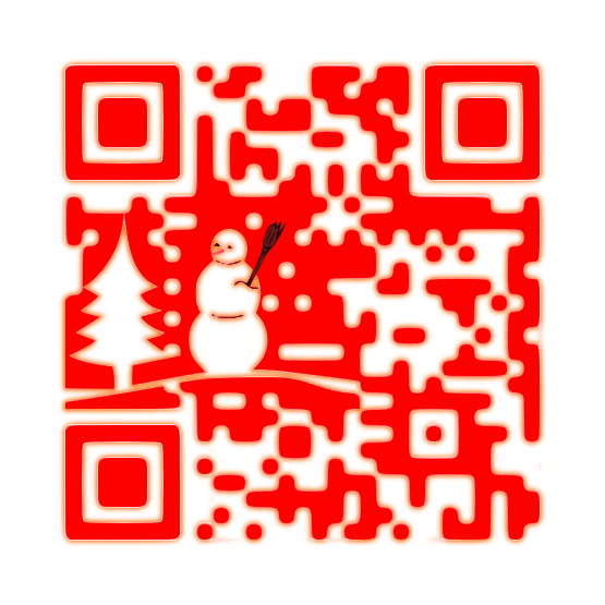 Winter Custom QR Code